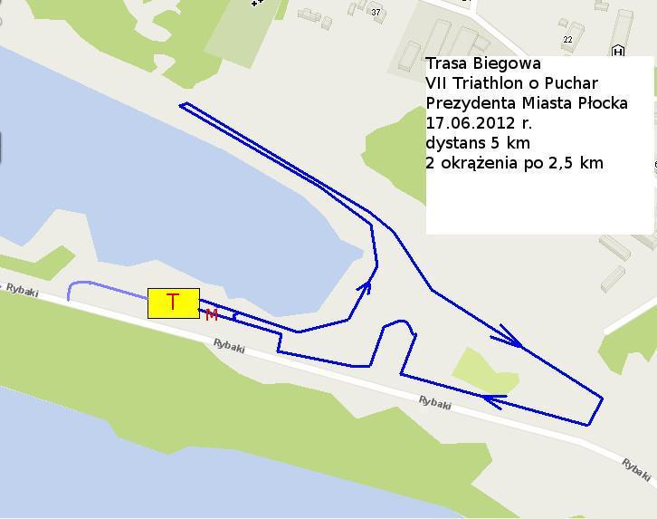 trasa biegu 2012