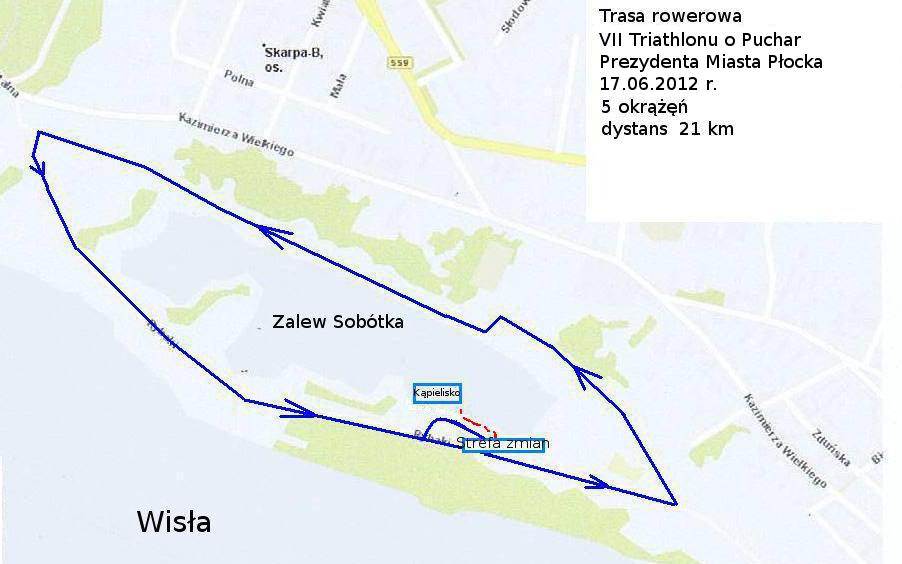 trasa rowerowa 2012