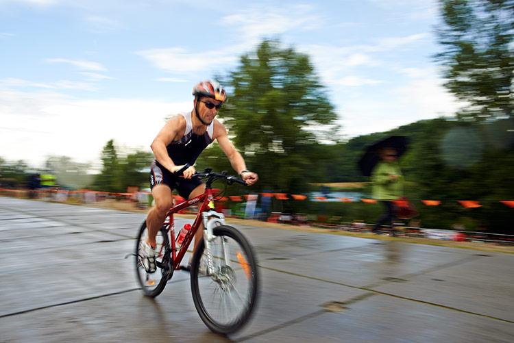 Adam Budziło przejechał zbyt wiele okrążeń na rowerze i zapłacił tzw. frycowe