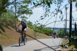 Jubileuszowy triathlon w gorącej atmosferze