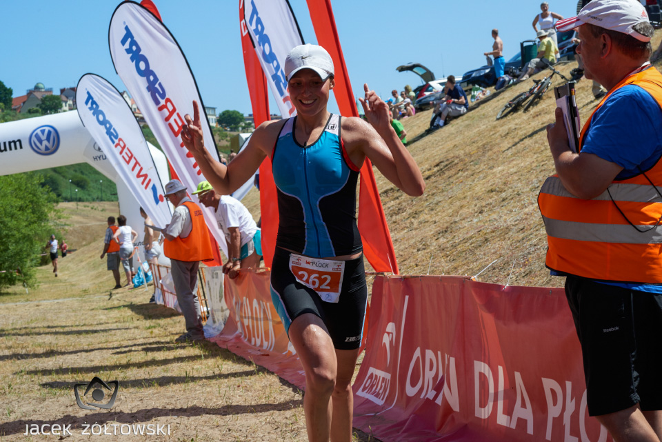 Ania Piorun - finisz