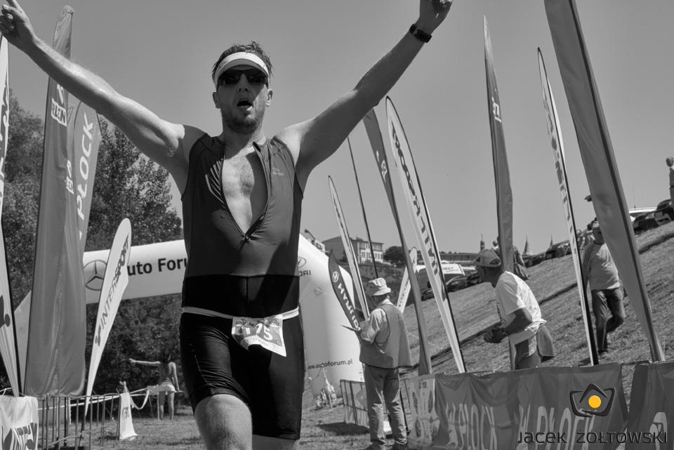 Radek Gronczewski - finisz, fot. Jacek Żółtowski