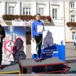 Natalia i Ela na podium