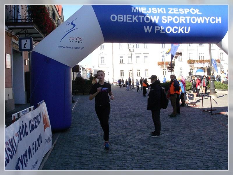 Ada Malanowska kończy bieg na I miejscu z dużą przewagą