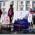 trzecie miejsce podium – Oliwia Dąbrowska (pierwsza z prawej)