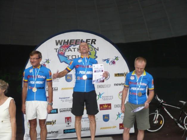 Pięciu zawodników DELTY na podium w triathlonie MTB w Kozienicach!!!