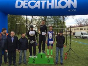 Łukasz Kalaszczyński po raz drugi zwycięża w Duathlonie po Mazowieckiej Szwajcarii