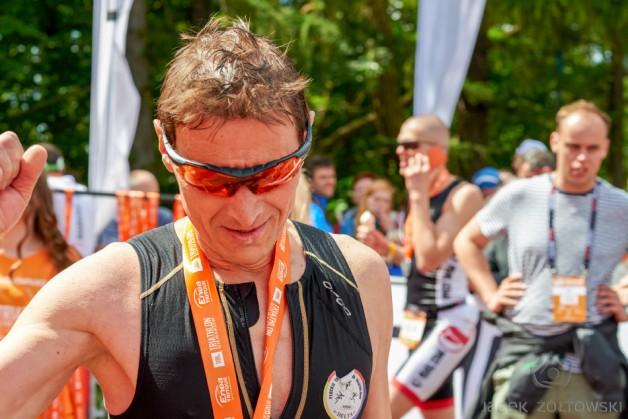 Triathlon w Szczecinie, Malanowski w natarciu