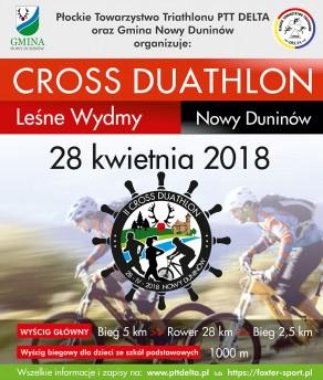 II Cross Duathlon MTB Leśne Wydmy