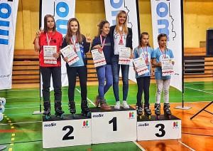Wyniki naszych Rolkarek na Mistrzostwach Polski