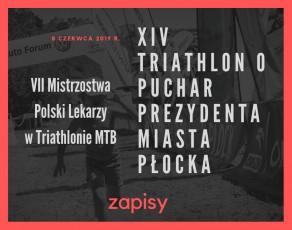 Ruszyły zapisy na XIV Triathlon o Puchar Prezydenta