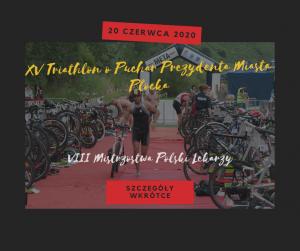Zapisy na XV Triathlon w Płocku już wkrótce!
